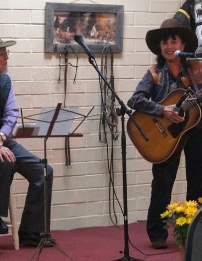 Al_Albrethsen_Peggy_Malone Western Slope Cowboy Performers