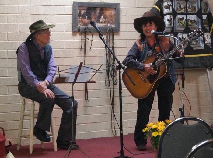 Al_Albrethsen_Peggy_Malone Western Slope Cowboy Performers November