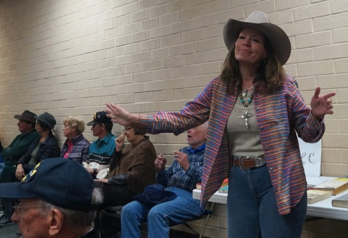 Susie_Knight Cowboy Poetry Grand Junction