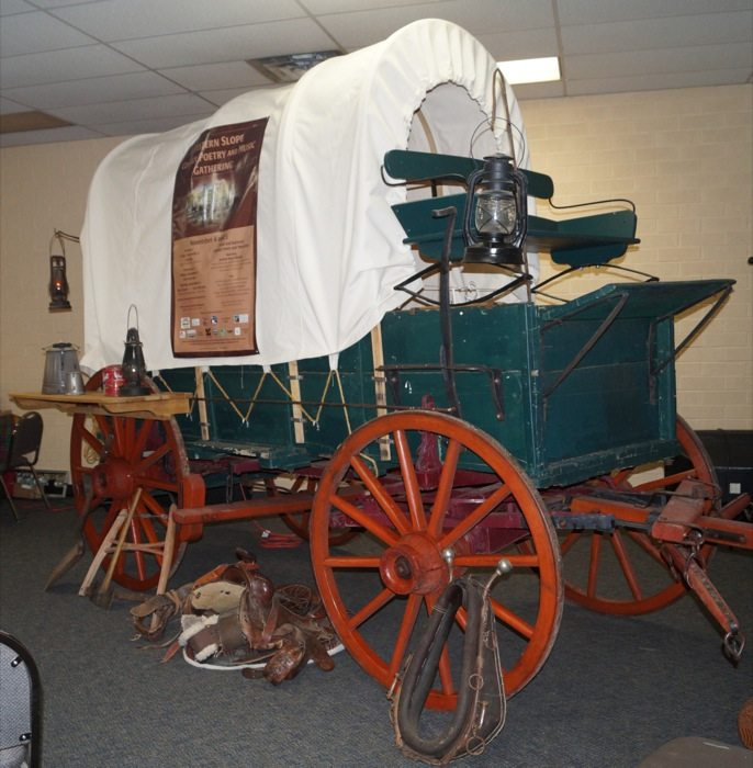 Chuck wagon Coboy Poetry Museum
