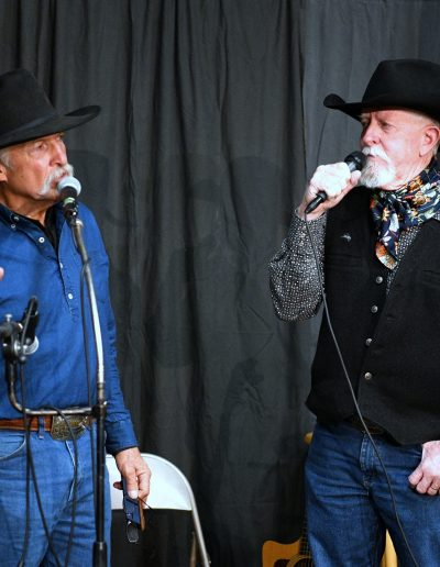 Dennis Russell and Terry Nash
